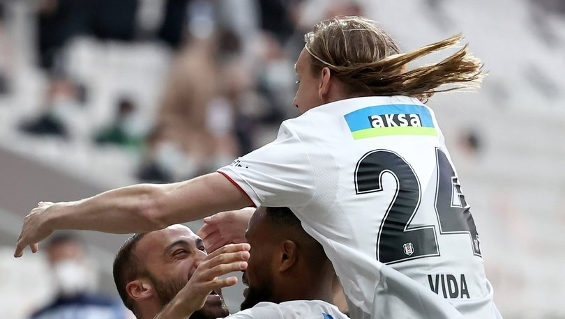 Beşiktaş Alanyaspor maç özeti! Lider kendine geldi