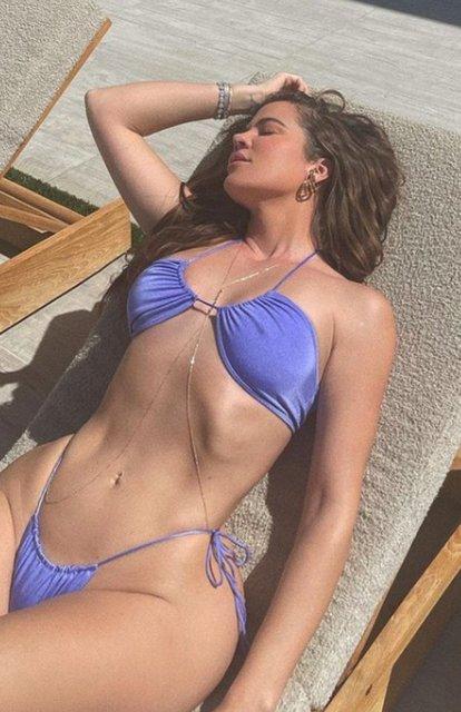 Khloe Kardashian'ın fotoşopsuz fotoğrafları olay oldu - Magazin haberleri