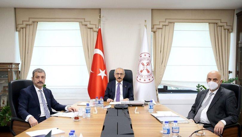 Hazine ve Maliye Bakanı Elvan ve TCMB Başkanı Kavcıoğlu G-20 Bakanlar Toplantısı'na katıldı