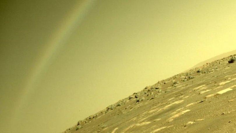 Mars'ta gökkuşağı olur mu? NASA'dan tartışmalara nokta koyan açıklama geldi