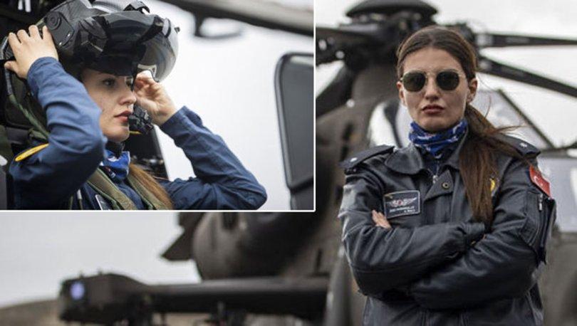 GURUR! Son dakika: Türkiye'nin ilk kadın taarruz helikopter pilotu Özge Karabulut!