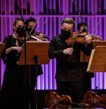 Milli Reasürans Oda Orkestrası bu akşam İş Sanat sahnesinde dünyada bir ilke imza atacak. Vivaldi