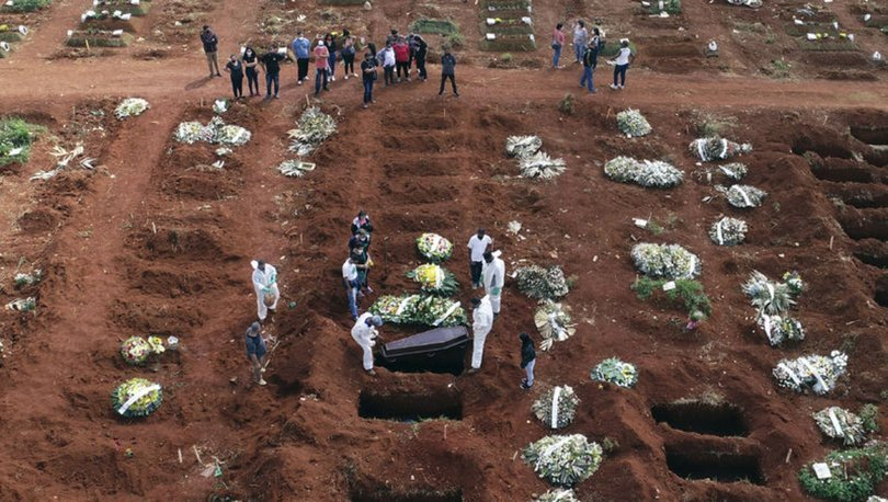 Brezilya'da bir günde Kovid-19 sebebiyle 4 bin 249 kişi hayatını kaybetti