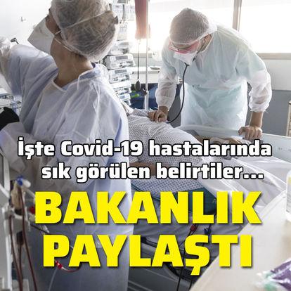 Sağlık Bakanlığı paylaştı! İşte Covid-19'un belirtileri