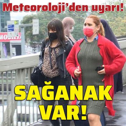 Meteoroloji'den önemli uyarı! Yurt genelinde yağış var!