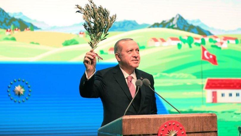 CumhurbaşkanıRecep Tayyip Erdoğan'ın müjdesi çiftçide sevinç yarattı