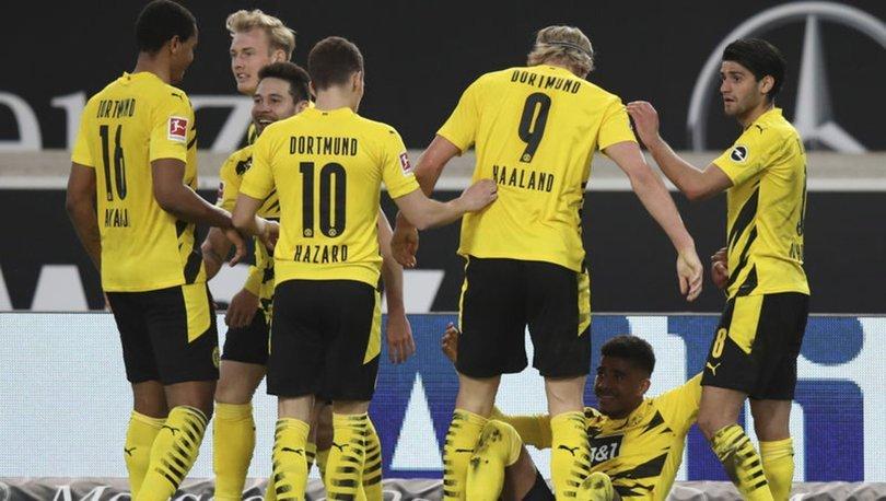 Stuttgart: 2 - Dortmund: 3 MAÇ SONUCU
