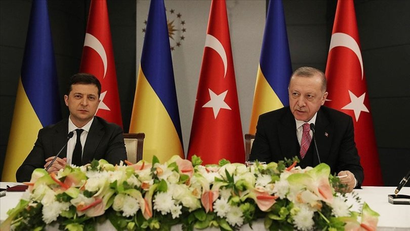 Cumhurbaşkanı Erdoğan ve Ukrayna Devlet Başkanı Vladimir Zelenskiy ortak basın toplantısı düzenledi
