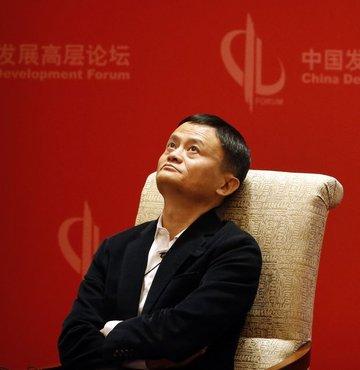 Alibaba için Çin