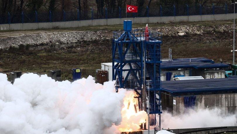 Ay görevinde kullanılacak motor ateşleme testini geçti