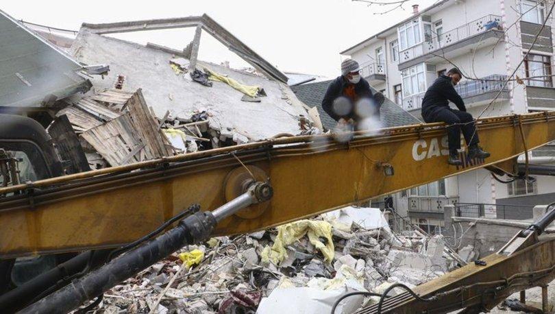 Son dakika: Ankara'da riskli Açelya Apartmanı yıkıldı
