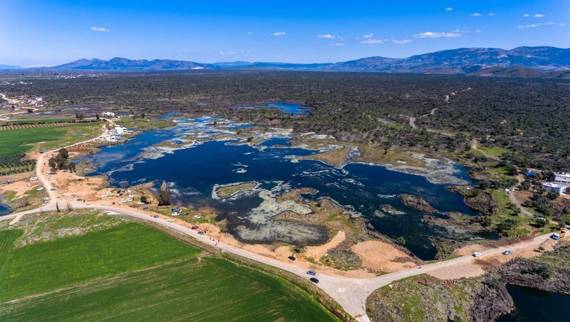 Volkanik Haydarlar Gölü'nü turizme kazandırma çalışmaları sürüyor
