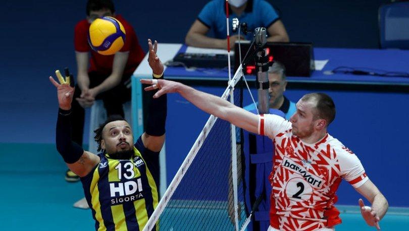 Ziraat Bankkart: 3 - Fenerbahçe HDI Sigorta: 1
