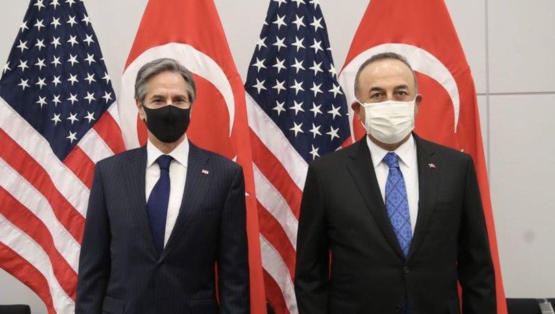 SON DAKİKA: Dışişleri Bakanı Çavuşoğlu, ABD Dışişleri Bakanı Blinken ile görüştü! - Haberler