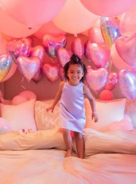 Khloe Kardashian'ın kızı True 3 yaşında - Magazin haberleri