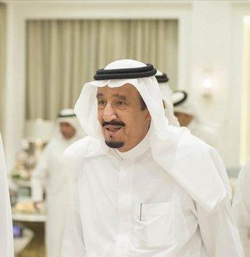 Katar Emiri Şeyh Temim bin Hamed Al Sani, Suudi Arabistan Kralı Selman bin Abdulaziz