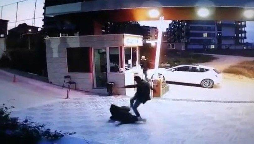 ÖLÜMÜNE DARP! Son dakika: Yeğeni dışarı çıktı, güvenlikçiye saldırdı