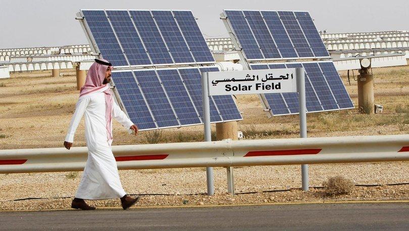 Petrol zengini Suudi Arabistan güneş enerjisine yatırım yapıyor