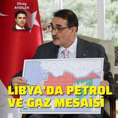 Libya'da petrol ve gaz mesaisi
