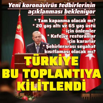 Türkiye bu toplantıya kilitlendi!