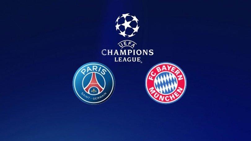 PSG Bayern Münih maçı hangi kanalda CANLI yayınlanacak? PSG Bayern Münih maçı ne zaman, saat kaçta?