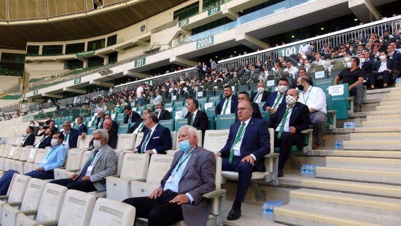 Bursaspor'un Olağan Genel Kurul tarihi erkene alındı