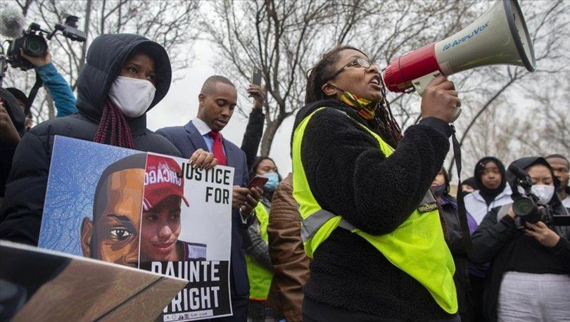 ABD'de siyahi genç Daunte Wright'ın ölümüne sebep olan polis ve şefi istifa etti