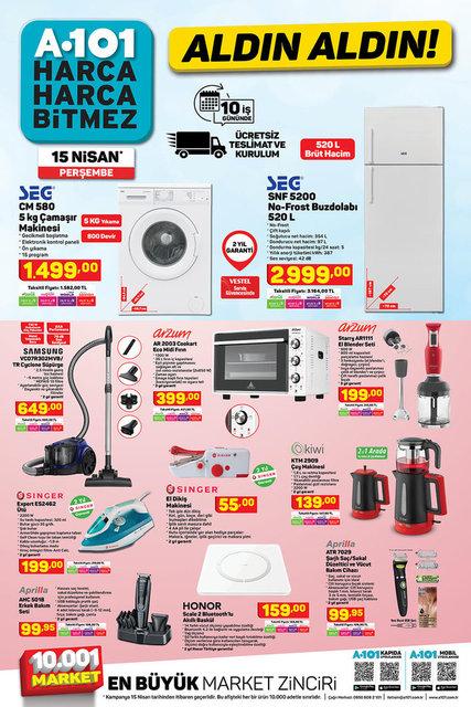 A101 BİM aktüel ürünler kataloğu! A101 BİM 15-16 Nisan aktüel ürünleri! Tüm listesi