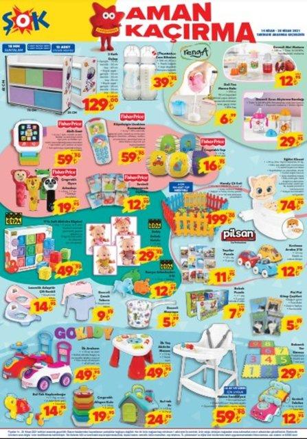 ŞOK 14 Nisan 2021 Aktüel ürünler kataloğu! ŞOK haftanın indirimli ürünler listesi