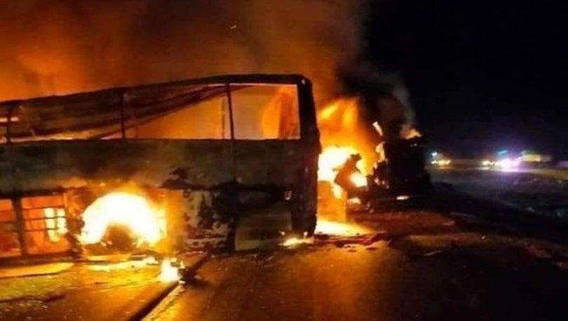 SON DAKİKA: Mısır'da yolcu otobüsü devrildi: En az 20 ölü - Haberler