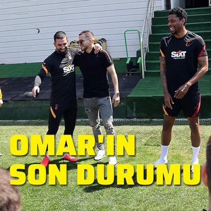 İşte Omar'ın son durumu! Takımı ziyaret etti