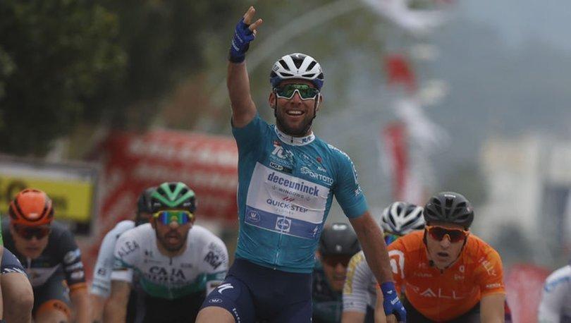 56. Cumhurbaşkanlığı Türkiye Bisiklet Turu'nun 4. etabını Cavendish kazandı