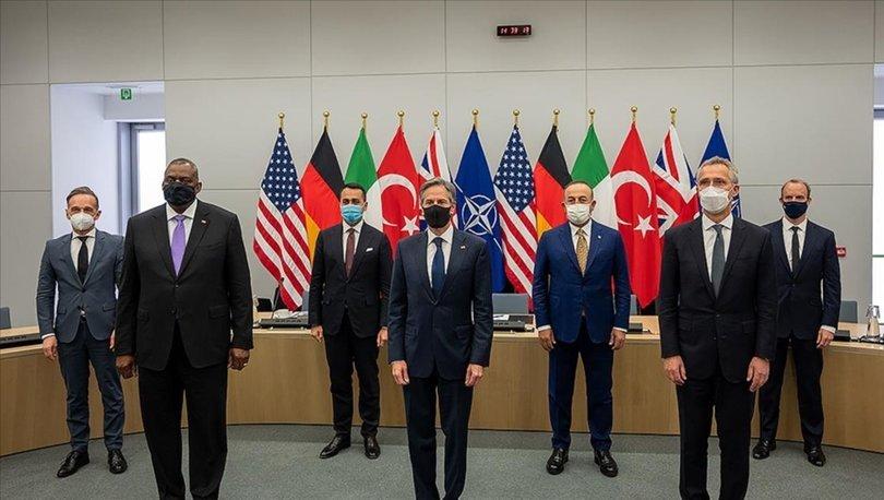 NATO Kararlı Destek Misyonu Çerçeve Ülkeleri Afganistan'daki durumu ele aldı