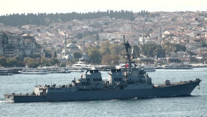 ABD'nin Rusya ve Ukrayna geriliminin artması üzerine Karadeniz'e gemilerini göndermekten vazgeçtiği iddia edildi