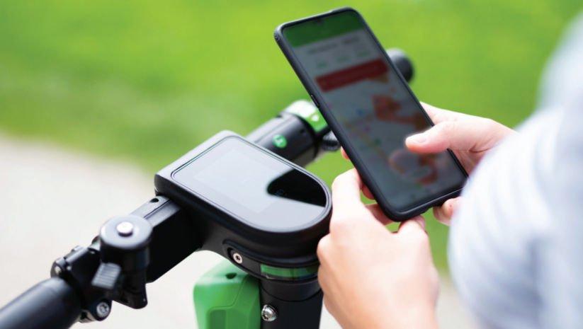 Artık e-scooter kullanırken...