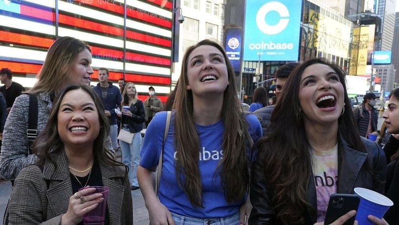 SERT YÜKSELİŞ! Coinbase'in piyasa değeri ilk gün 61 milyar dolar oldu! - Haberler