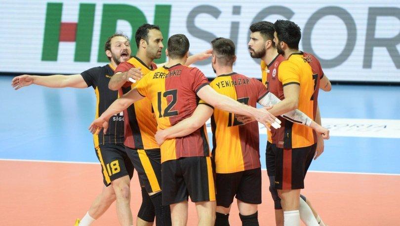Galatasaray HDI Sigorta: 3 - Arkas Spor: 0