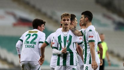 Bursaspor 2 attı 3 aldı