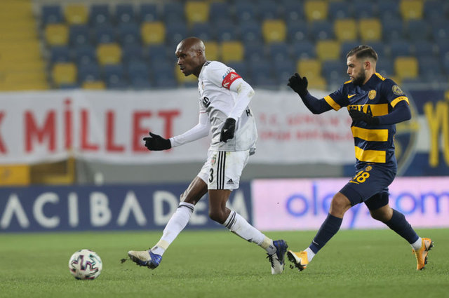 Beşiktaş'ın Ankaragücü maçı muhtemel 11'i