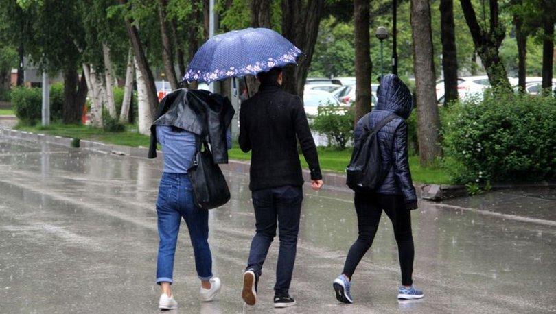 ISALANACAĞIZ! Son dakika HAVA DURUMU uyarısı! Bu illerde yağmur var