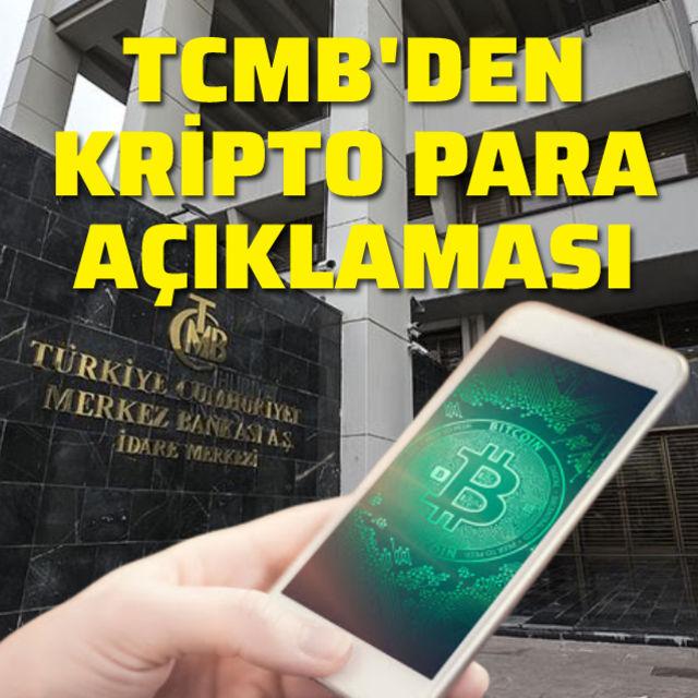 Merkez Bankasından kripto para açıklaması