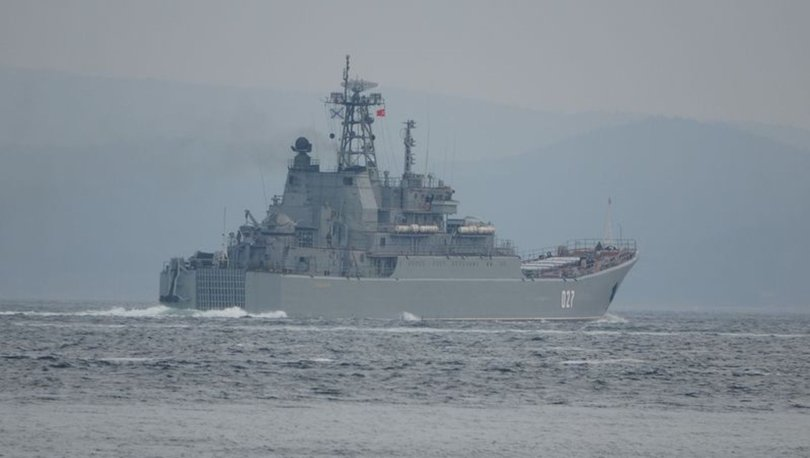 Savaş çanları çalıyor! SON DAKİKA: Rus savaş gemileri Karadeniz'e geçti