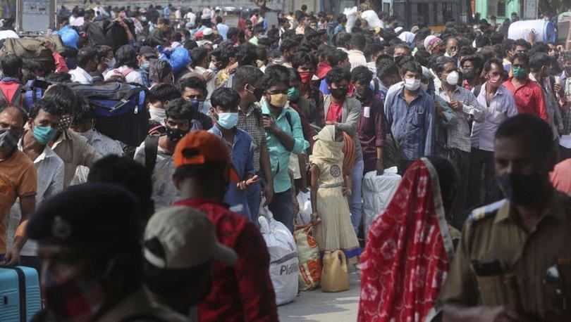 SON DAKİKA: Hindistan'da koronavirüs vaka sayılarında dünya rekoru! - Haberler