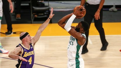Celtics, Brown'un 40 sayısıyla kazandı