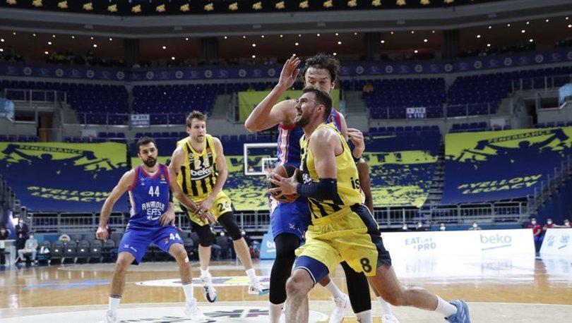 Fenerbahçe Beko-Anadolu Efes maçı Kovid-19 vakaları nedeniyle ertelendi