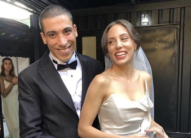 Öykü Karayel-Can Bonomo çiftinin mutlu günü