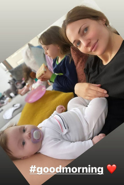 Meryem Uzerli'den kızları Lara ve Lily Koi ile yeni poz - Magazin haberleri
