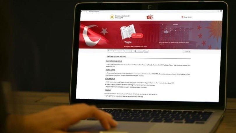 Güvenlik Soruşturması ve Arşiv Araştırması Kanunu, Resmi Gazete'de