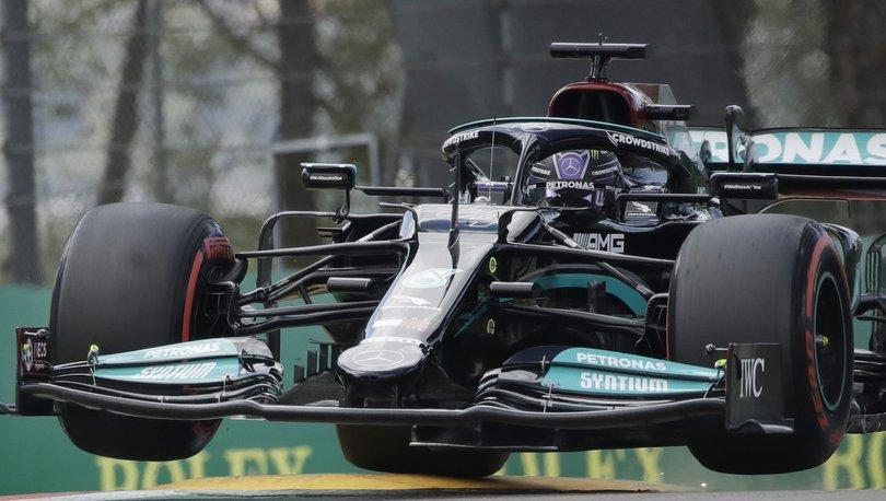 Formula 1 Emilia-Romagna Grand Prix'sinde pole pozisyonu Hamilton'ın