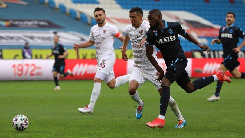 Trabzonspor: 1 - Hatayspor: 1 | MAÇ SONUCU